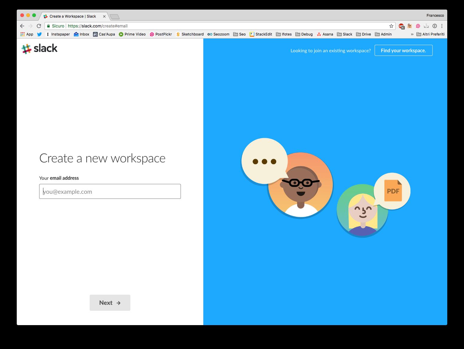 Cos'è l'applicazione Slack?